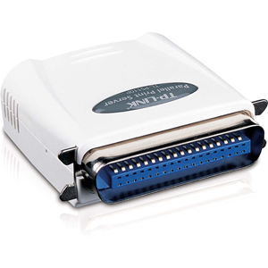 Sngl Parallel Port Fast Ether Print Server,