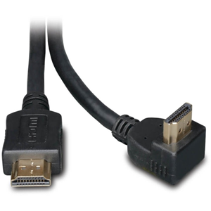 Tripp Lite 6ft High Speed HDMI Cable Digital Video with Audio Right Angle Connector 4K x 2K M/M 6'