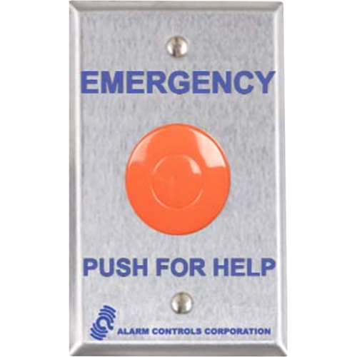 Alarm Controls Latching Contacts Panic Station