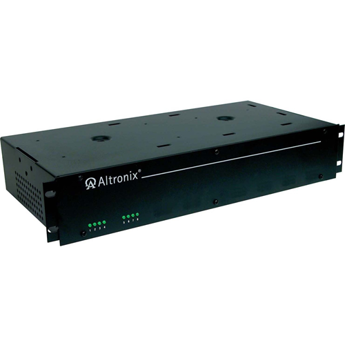 Altronix 24VAC @ 28 Amp or 28VAC @ 25 Amp. Eight Fused Outputs. Rack Mount