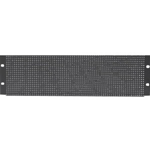 "Atlas Sound 19"" 1 RU Recessed Vent Rack Panel"