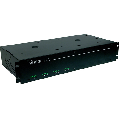 Altronix 16 Fused Outputs CCTV DC Rack Mount Power Supply. 6-15VDC @ 10A