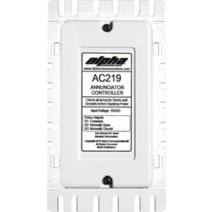 Alpha AC219 Annunciator Control Unit for AlphaEcall and CM800 / DS100