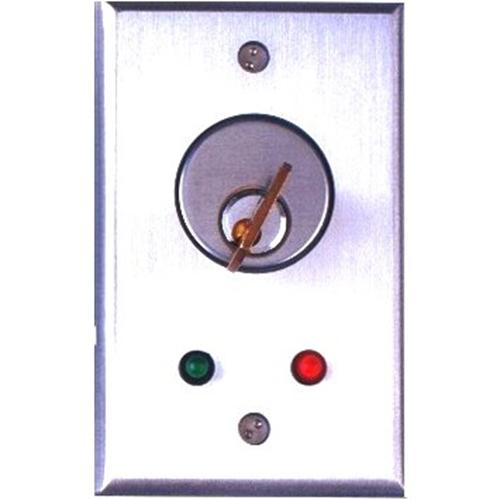 Camden Key Switch, DPDT Momentary