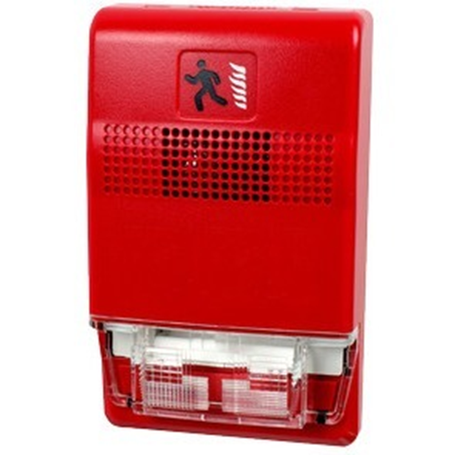 Edwards Signaling Genesis Compact Red Fire Alarm Piezo Horn Red