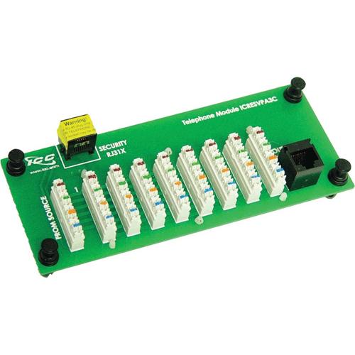 ICC Compact Module, Telephone, 8-Port W/RJ31