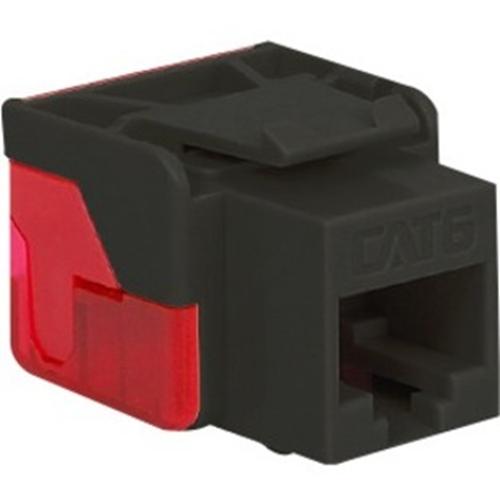 ICC CAT 6, EZ Modular Connector, Black