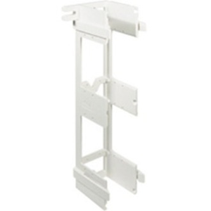 ICC Mounting Bracket for Patch Panel, Punch-down Block - White