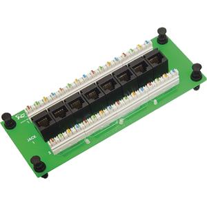 ICC Compact Module, CAT 6 Data, 8-Port
