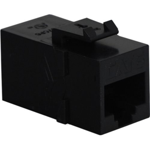 ICC Cat 6, Modular Coupler, Black