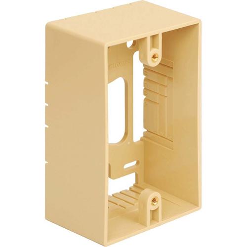 ICC Mounting Box 1-Gang Ivory