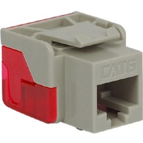 ICC Cat 6, EZ Modular Connector, Gray