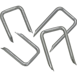 IDEAL Carbon Steel Cable Staple, 1/2 inch x 1 inch, (Jar of 500)