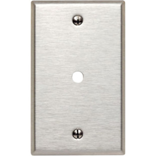 Leviton 84013 Telephone/Cable Faceplate