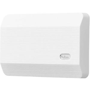 """NuTone Decorative Wired Door Chime, 8-1/8""""w x 5-1/2""""h x 2-3/8""""d, in White"""