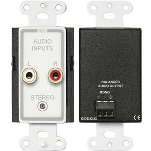 RDL D-CIJ3 Consumer Input Jacks - Mono