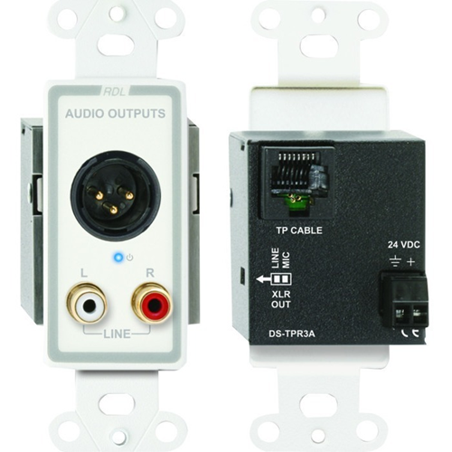 RDL D-TPR3A Faceplate Module