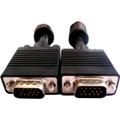 SRC SVGA,HD15 Male to Male, 3ft with Ferrite Core