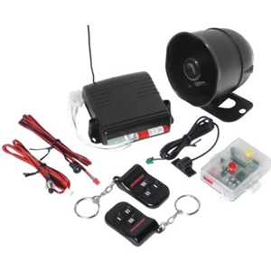 Enforcer Full-Featured RF Remote Modular Car Alarm System