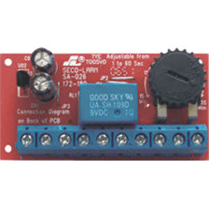 Seco-Larm SA-026Q Low-voltage Miniature Delay Timer Module with Relay Output