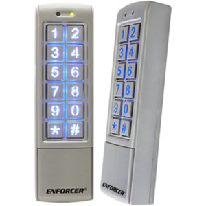 Enforcer Mullion-Style Outdoor Digital Access Keypad