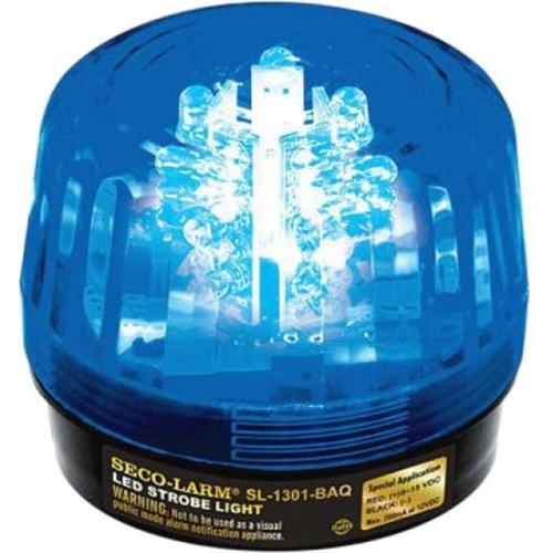 Enforcer Blue LED Strobe Light - 32 LEDs, Adjustable Flash Speeds and Patterns