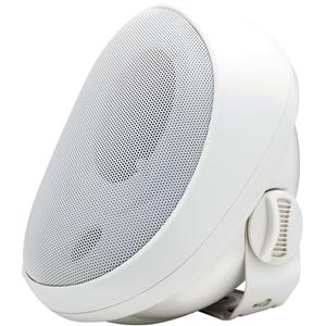 Speco Elite Indoor/Outdoor Surface Mount Speaker - 25 W RMS - White