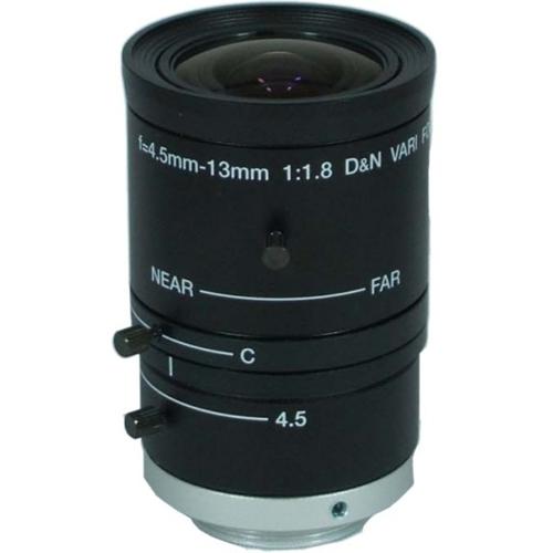 StarDot LEN-5MV4513CS - 4.50 mm to 13 mm - f/1.8 - Wide Angle Zoom Lens for CS Mount