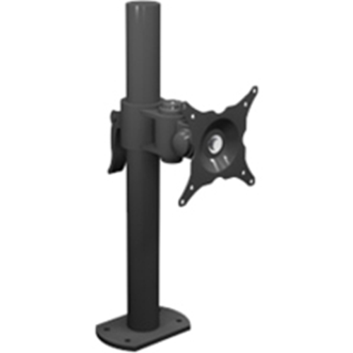 Winsted W6471 Pole Mount for Flat Panel Display - Black