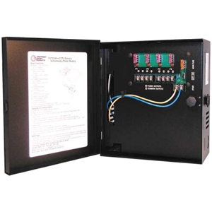 Preferred Power Products CCTV Power Supply - 12VDC, 4 Output, 5 Amps