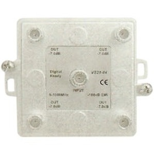 DataComm 4-Way 1 GHz Splitter with Printed Circuit Board