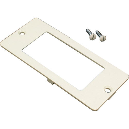 Wiremold 5500 Rectangle Receptacle Faceplate Fitting