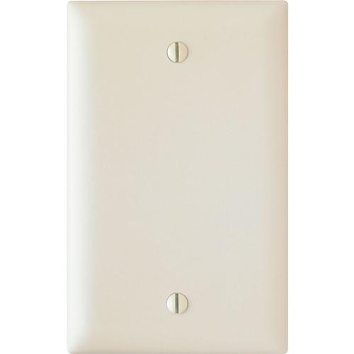 Pass & Seymour Trademaster 1-Gang Blank Wall Plate, Light Almond (M20)