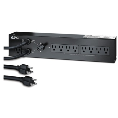 APC by Schneider Electric 8-Outlets 1.5kVA PDU