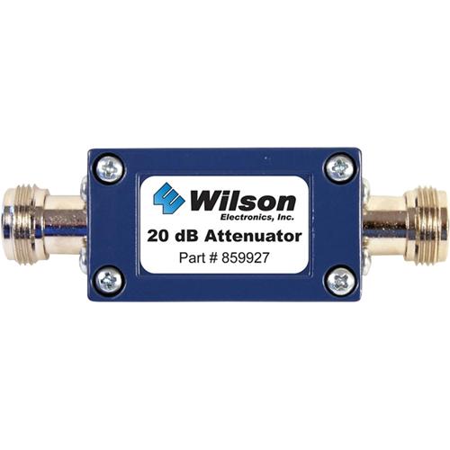 Wilson 20 dB Cellular Signal Attenuator, 50 Ohm (N Female Connectors)