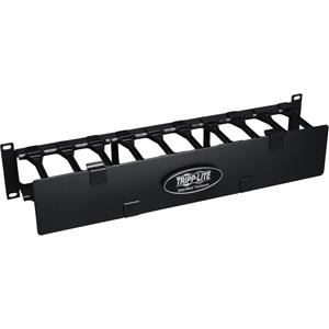 Tripp Lite Rack Enclosure Horizontal Cable Manager Steel w Finger Duct 2URM