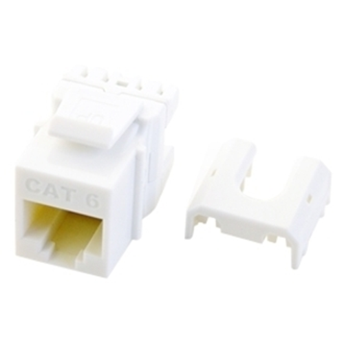 Legrand-On-Q Cat 6 Quick Connect RJ45 Keystone Insert, White