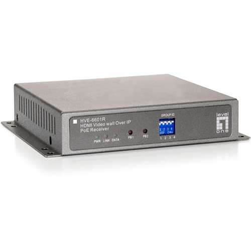 LevelOne HDMI Video Wall Over IP PoE Receiver