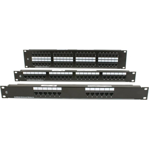 OCC Rack Mount Patch Panel, 568A/B Wired, 48-port, 2RU