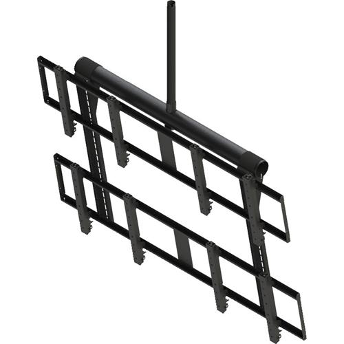 Peerless-AV DS-VWT955-2X2 Ceiling Mount for Flat Panel Display, Digital Signage Display - Black