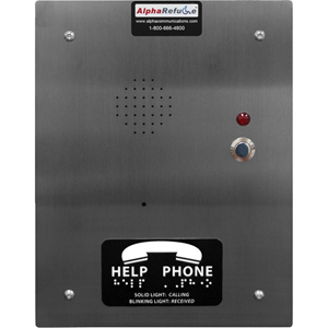 Alpha AlphaRefuge 2100 RCB2100SFR Intercom Sub Station