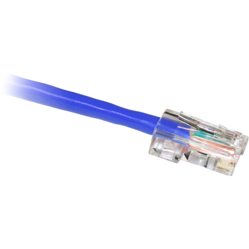 ClearLinks 6FT Cat. 5E 350MHZ Blue No Boot Patch Cable