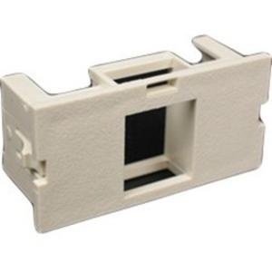 Wiremold CM 2A Single Flushmount Unloaded Keystone Module