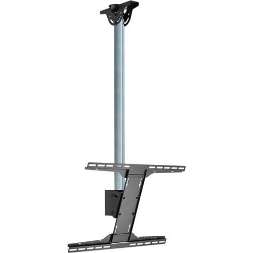 Peerless-AV Modular MOD-FPSKIT100 Ceiling Mount for Flat Panel Display - Chrome
