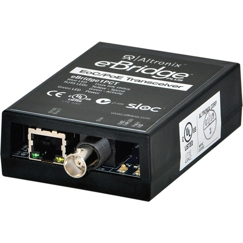 Altronix IP and PoE over Coax Transceiver