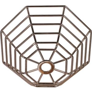 STI Steel Web Stopper, for Mini Smoke Detectors, Flush Mount - Stainless Steel