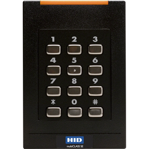 HID multiCLASS SE® RPK40 Multi-technology Smartcard Reader with Keypad