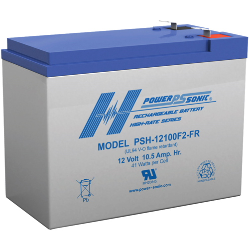Power Sonic Rechargeable Sealed Lead Acid Battery