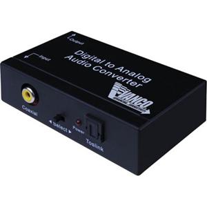 Vanco Premium Digital to Analog Audio Converter