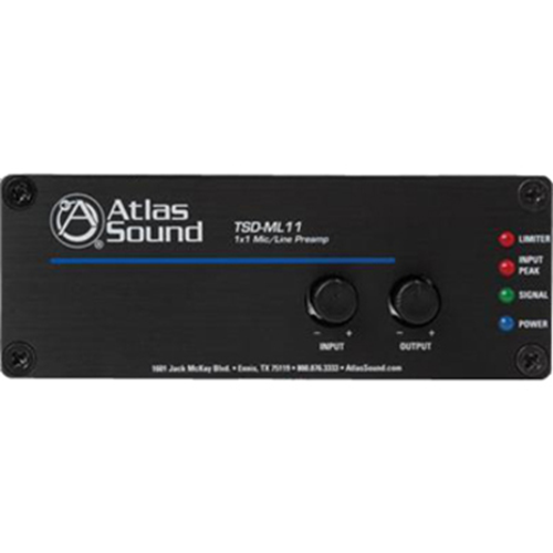 Atlas Sound TSD-ML11 Amplifier - Black